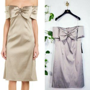 NWT TERI JON Champagne Mother of the bride dress